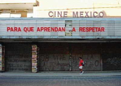 Cine México, Puebla, México, 2006, de Teresa Margolles