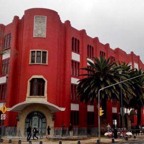 Frontón México, en el corazón de la colonia Tabacalera, es la sede de Material 2018