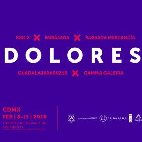 DOLORES, UNA NUEVA INICIATIVA DE GALERÍAS JÓVENES DE MÉXICO, CHILE Y PUERTO RICO