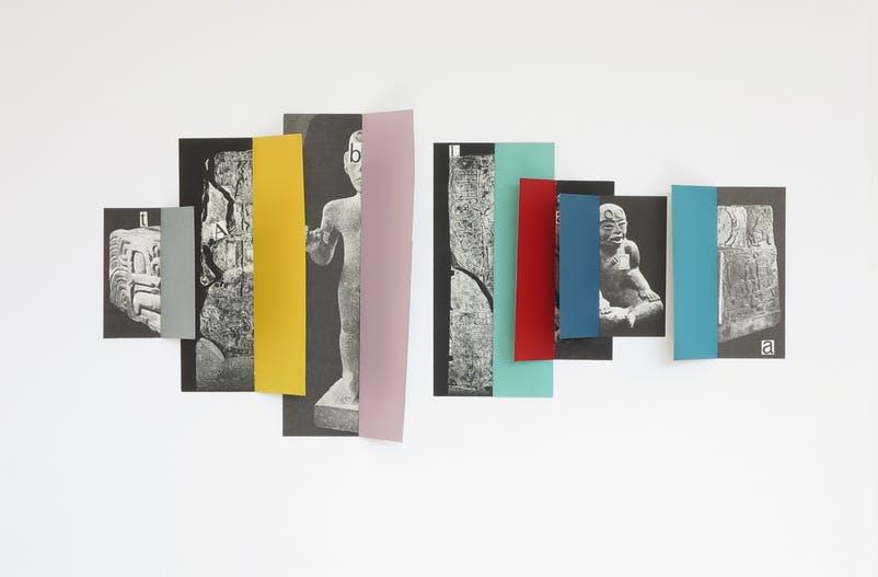 """Marco Rountree, Sans Título, 2017, en """"Talon Rouge"""", muestra inaugural de Proxyco, Nueva York. Cortesía de la galería"""
