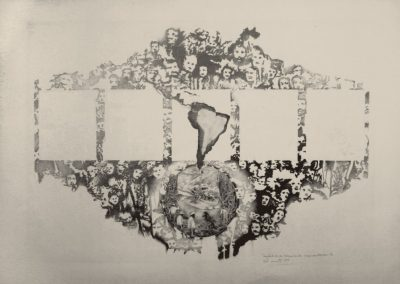 Tentativas de técnicas de segmentación 4, 1979, de Elda Cerrato. En Henrique Faria Fine Art