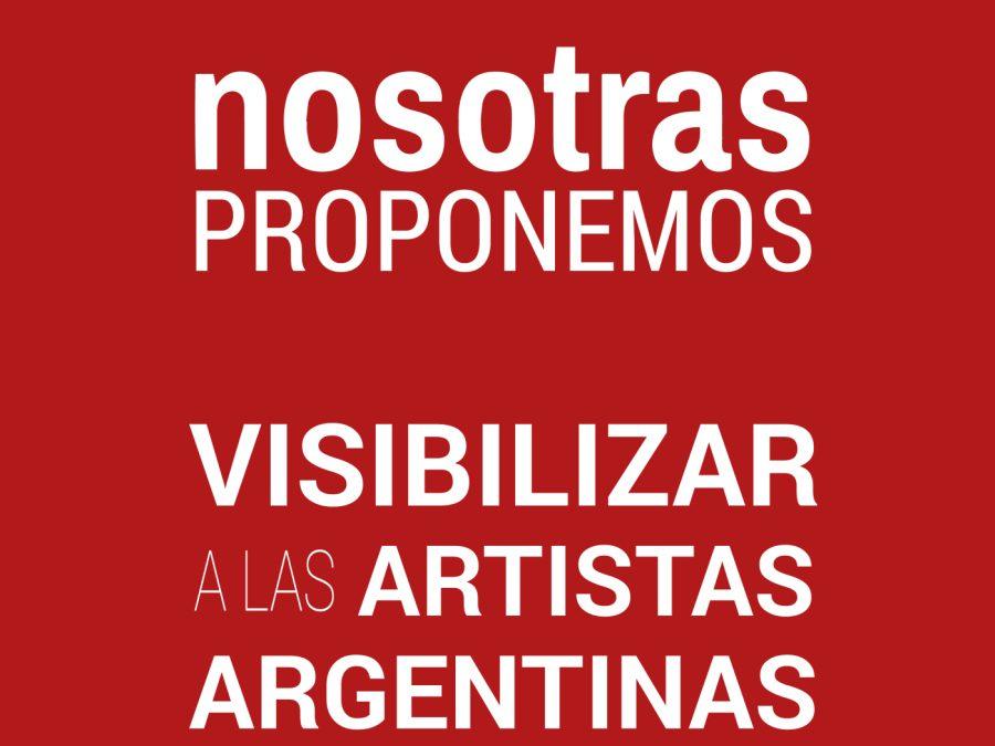 MUJERES DEL MUNDO DEL ARTE EN ARGENTINA SE UNEN POR REPRESENTACIÓN IGUALITARIA