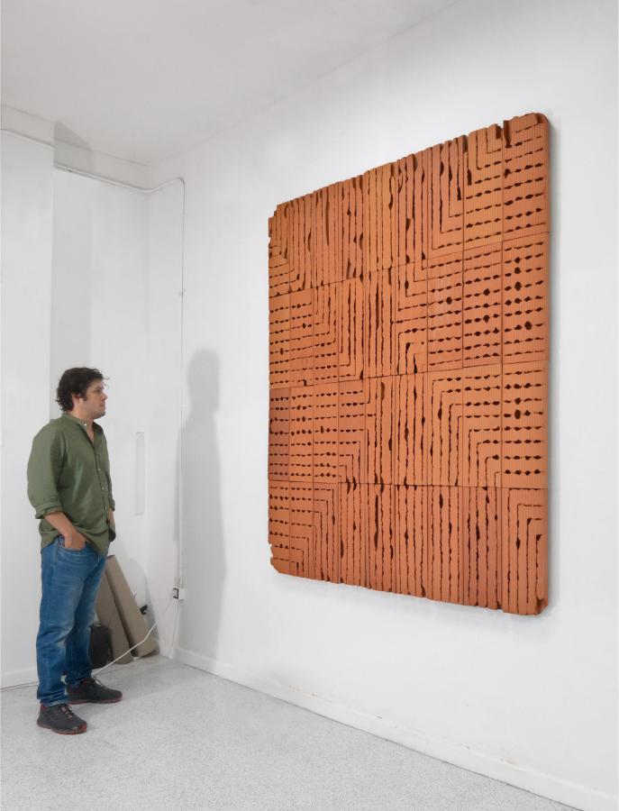 Oscar Abraham Pabón, Boundary Problems, 2017. Cortesía del artista
