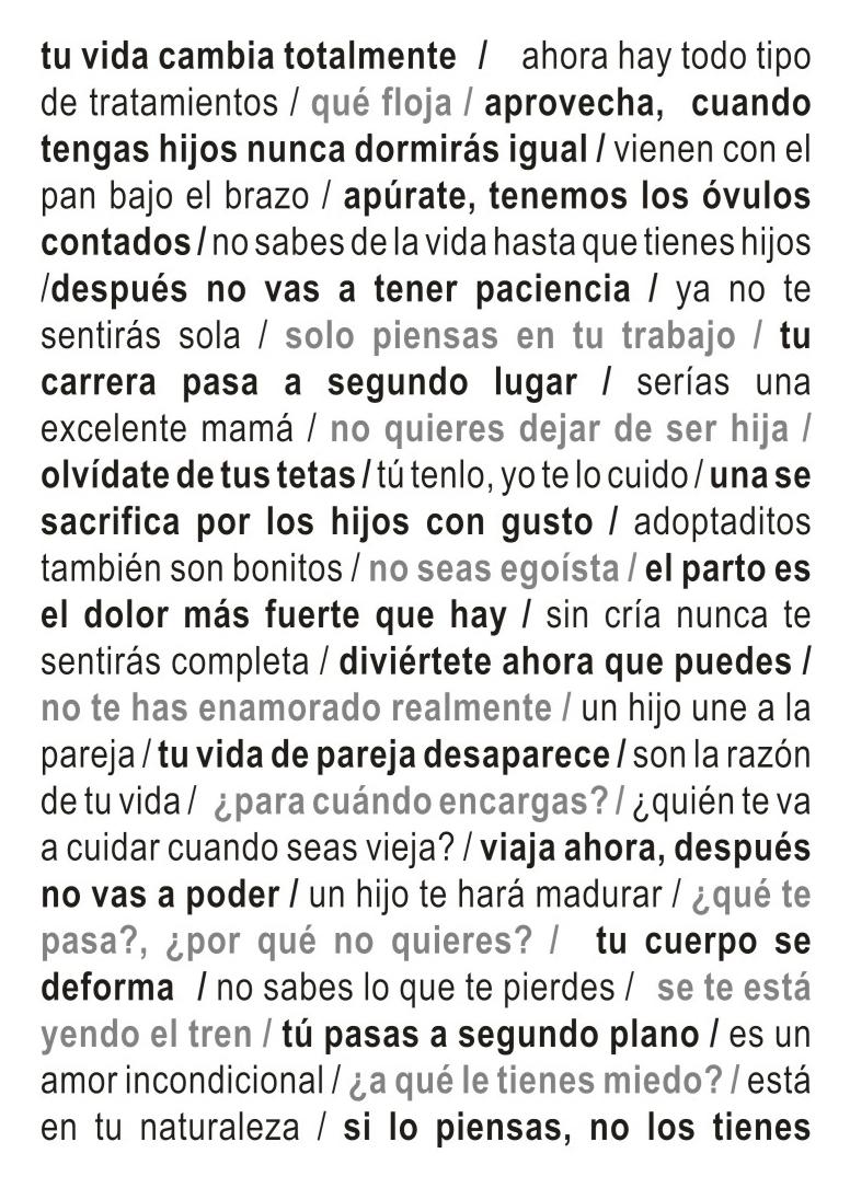 Natalia Iguiñiz, Desnaturalizada (Cover Jenny Holzer), 2005. Vinil adhesivo sobre papel, medidas variables