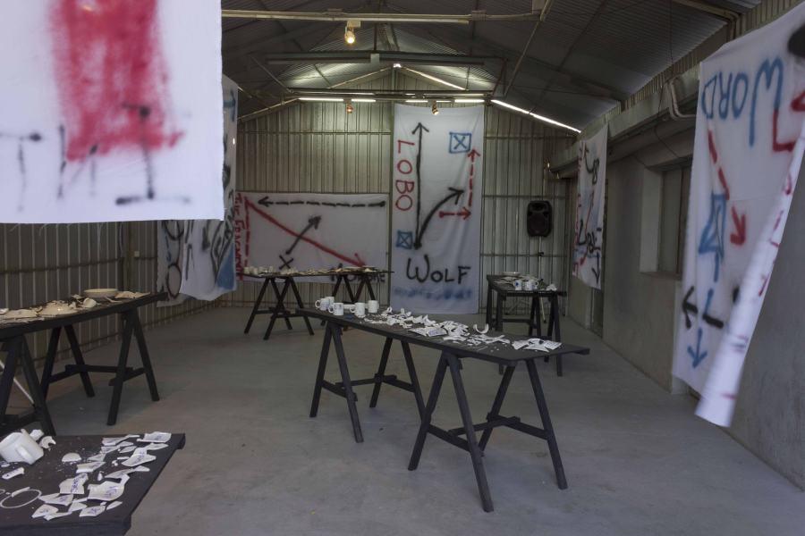 The Porcelain Workshop, de Brandon LaBelle (EEUU/Alemania). 24 noviembre - 2 diciembre de 2012. Cortesía: Galería Metropolitana