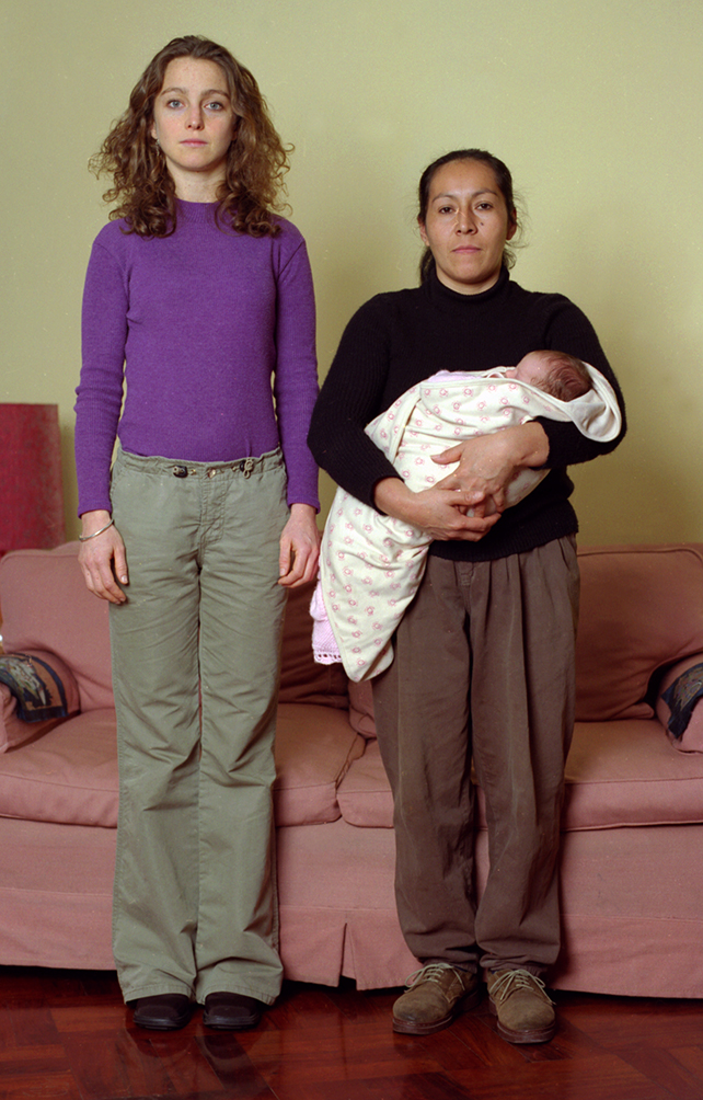 Natalia Iguiñiz, La otra, 2001. Impresión cromogénica sobre papel, 180 x 120 cm.