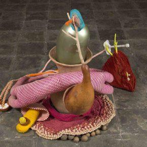 Vista de la muestra Vital de María Nepomuceno en Sikkema Jenkins & Co., Nueva York. Foto: cortesía de la galería.