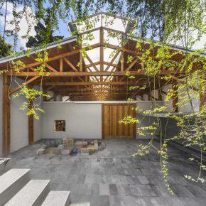 La sede de kurimanzutto en la Ciudad de México. Cortesía de la galería