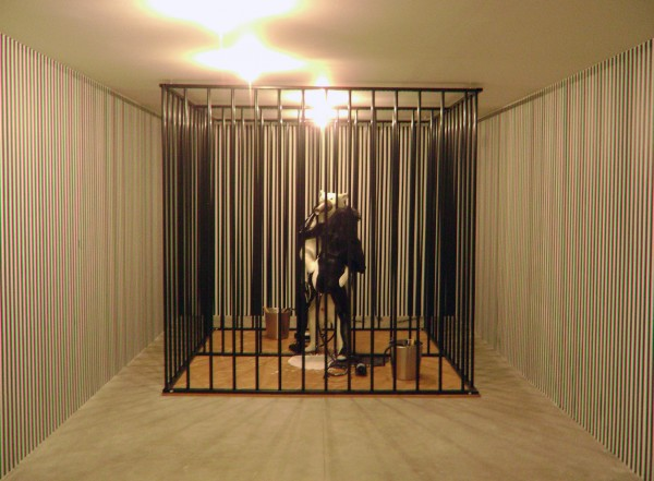 Richard Jackson (1939), Confusion in the vault room, 2005.