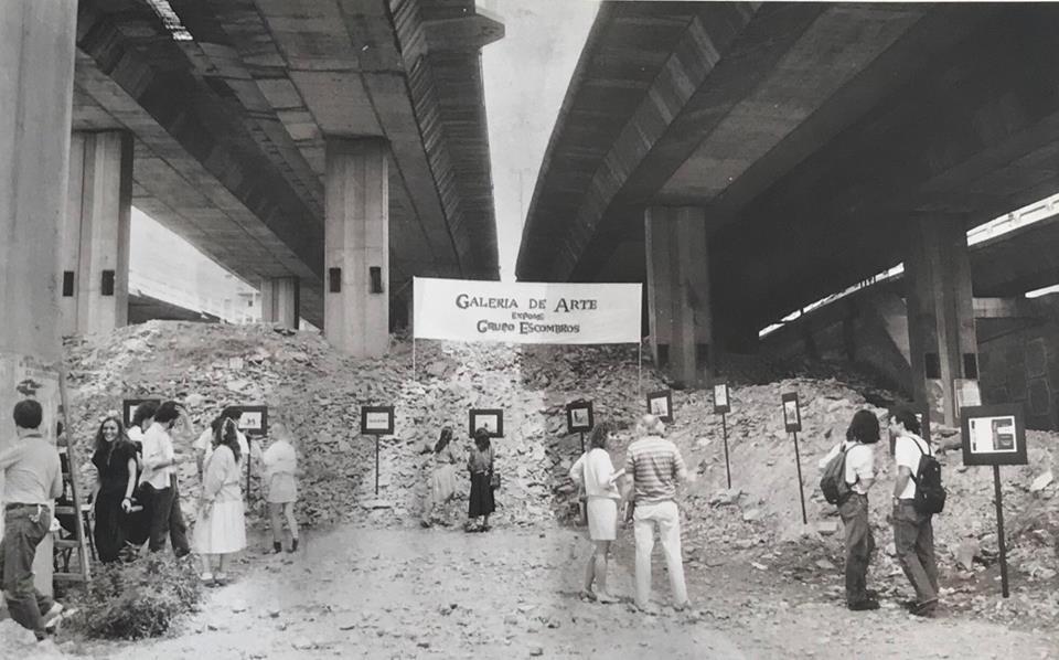 GRUPO ESCOMBROS: PANCARTAS. 30 AÑOS (1988-2018)