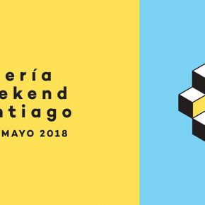 Galería Weekend Santiago 2018, afiche