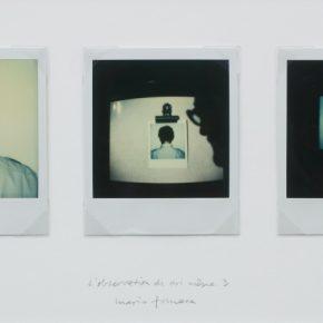 Mario Fonseca, L'observation de soi même 3, 1982-2014, polaroid sobre cartón, 19 x 37 cm, pieza única. Cortesía del artista y CF-LART