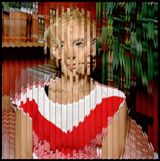 Isabel Martínez, Chevron #1 (from the Quantum Blink series), 2011, fotografía análoga