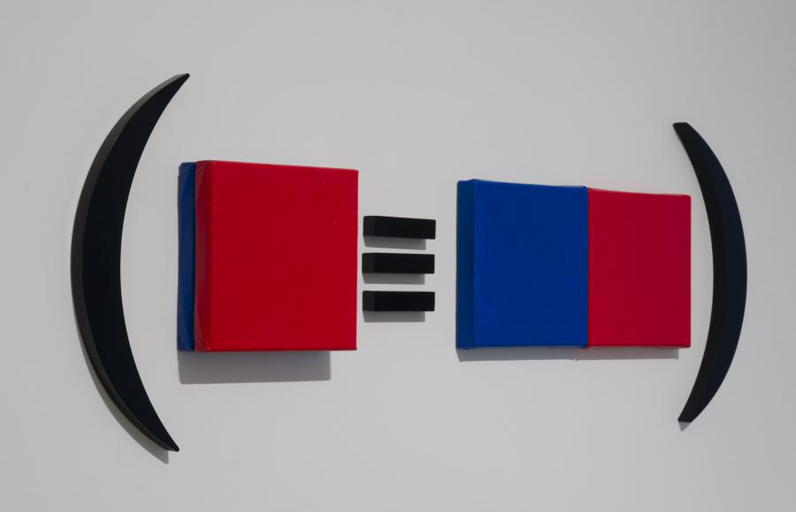 Obra de Horacio Zabala en Henrique Faria. Sección Principal, PArC, Lima, 2018. Cortesía de la galería y PArC