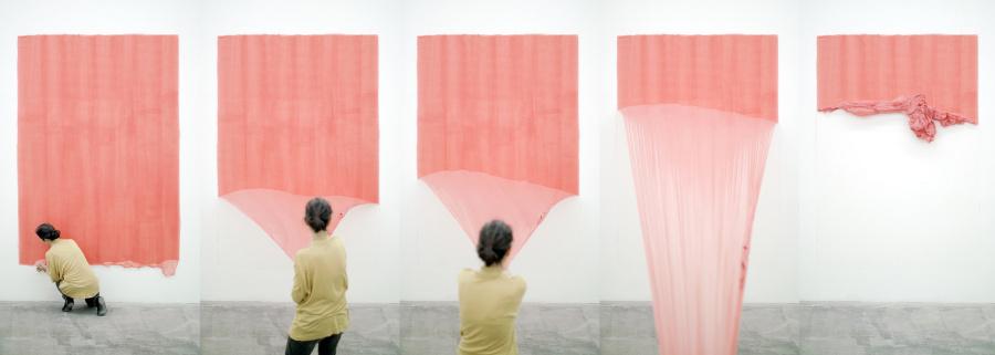 Elena Dahn, Saliente, 2016, video 4k monocanal, color, sonido, 6 minutos 9 segundos (Stills). Cortesía de la artista