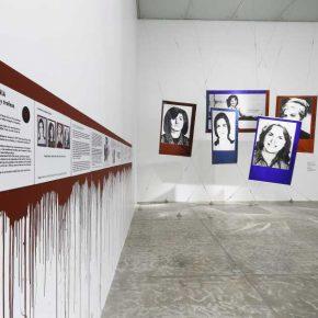 """Vista de la exposición """"Leandro Katz. Proyecto para el día que me quieras y la danza de fantasmas"""", en el Museo Universitario Arte Contemporáneo, 2018. Foto: Oliver Santana. Cortesía MUAC."""