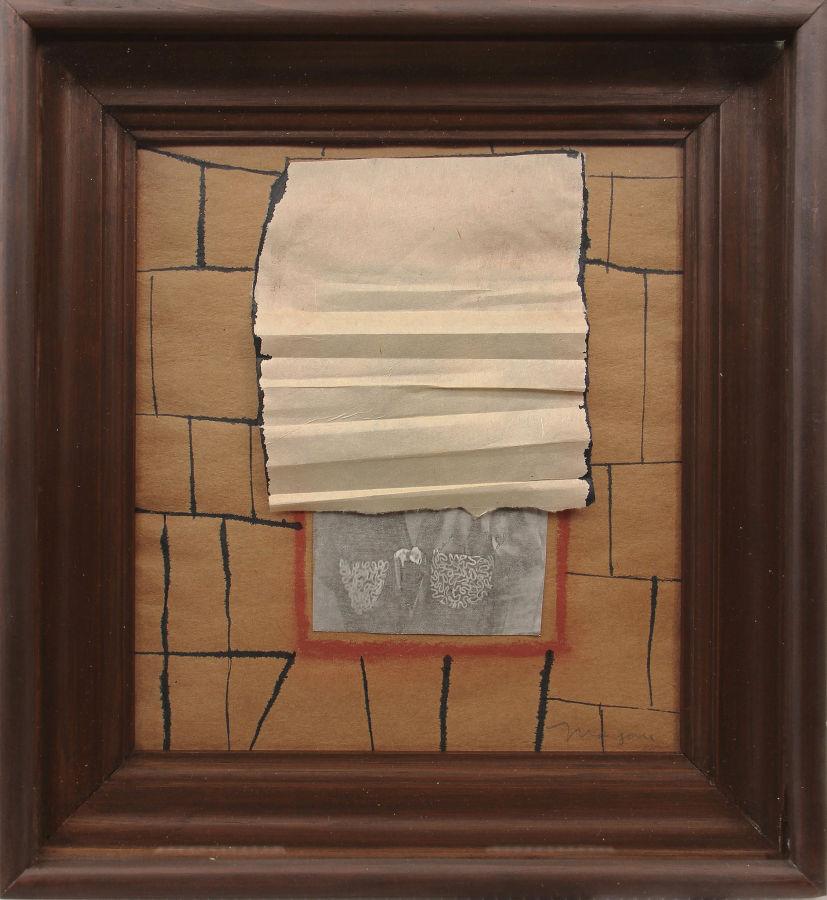Magali Lara, de la serie Ventanas, 1978, técnica mixta, 31 x 28.5 cm. Cortesía: Walden, Buenos Aires
