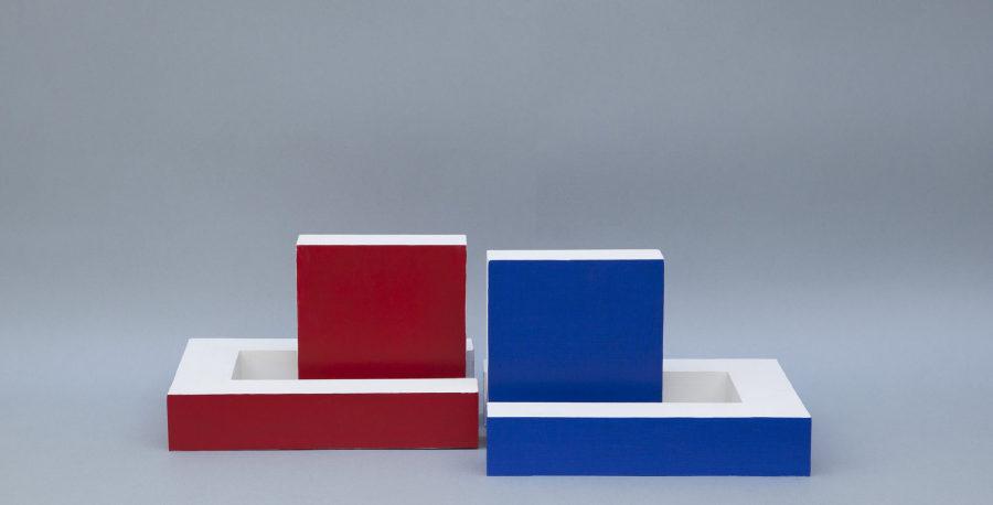 Noemí Escandell, Volúmenes, cuerpos y desplazamientos, 1966, escultura, 20 x 36 x 67 cm. Cortesía: Henrique Faria New York & Buenos Aires