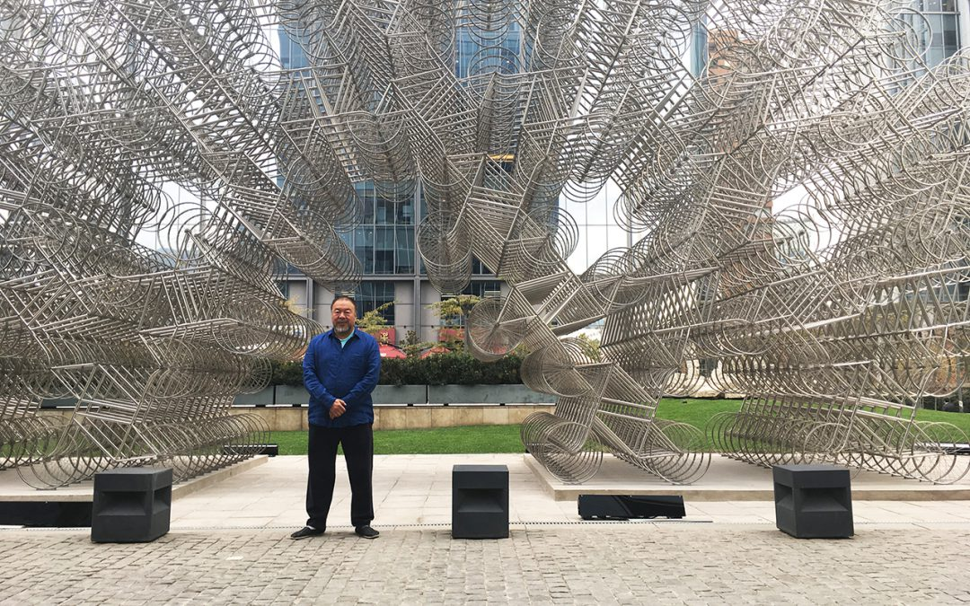 ON «INOCULACIÓN», EXILE AND FREEDOM OF EXPRESSION. INTERVIEW WITH AI WEIWEI