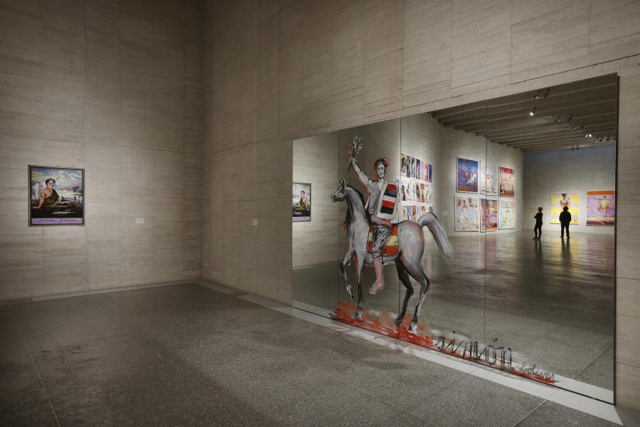 JUAN DÁVILA:  PINTURA Y AMBIGÜEDAD. PRIMERA MUESTRA EN UN MUSEO ESPAÑOL