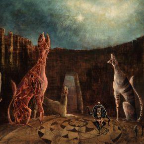 Leonora Carrington, Are you really Syrious?,1953, óleo sobre tela. Foto: Miguel Escobedo.