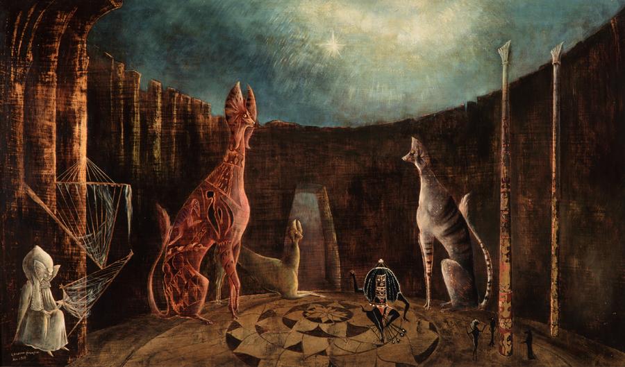 GRAN RETROSPECTIVA DE LEONORA CARRINGTON EN MUSEO DE ARTE MODERNO DE MÉXICO