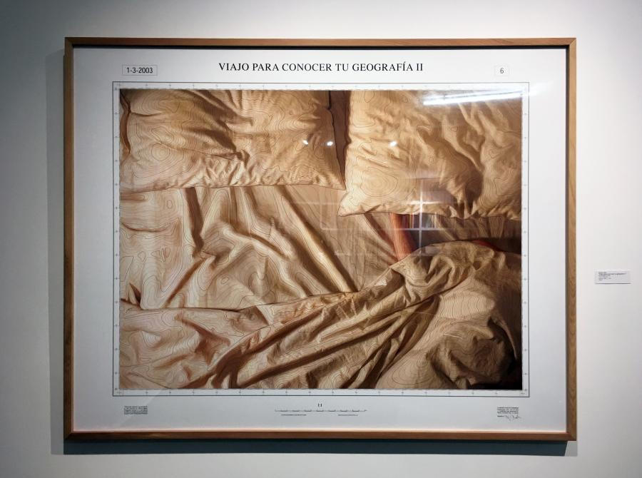 Mateo Maté, Viajo para conocer tu geografía II, 2016, fotografía a color, 110 x 146 cm, edición 6/6. Foto: Nicolás de Sarmiento. Cortesía del artista y Galería Isabel Aninat, Santiago