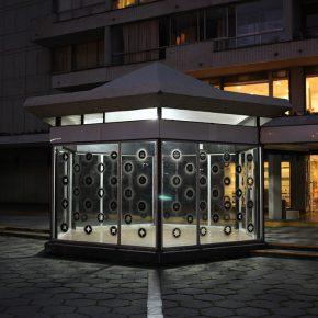 Vista de la muestra Diamante Hueco (2011) de Rodrigo Canala, exposición inaugural de Galería Tajamar en Providencia, Santiago de Chile. Foto: Sebastián Mejía, cortesía Galería Tajamar.
