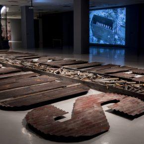 Traigamos la catástrofe, vista de la instalación en la exposición