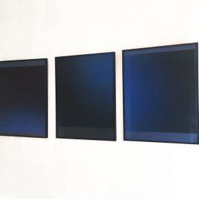 Catalina Valenzuela Reymond, Serie Luz Azul, 2017, pastel seco sobre papel, 60 x 50 cm c/u. Cortesía de la artista