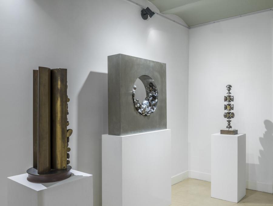 Vista de la exposición de Noemí Gerstein en Henrique Faria Buenos Aires, 2018. Cortesía de la galería