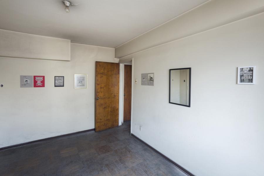 Juan José Richards, Donde Fuego Hubo, 2018, collage, 20 láminas de 21.6 x 27.9 cms c/u. Foto: Rodrigo Maulén