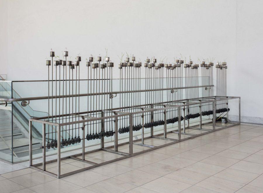 "Beatriz Cortez, Tzolk'in, 2018. Vista de la obra en ""Made in L.A"", Hammer Museum, Los Ángeles, 2018. Foto: Brian Forrest"