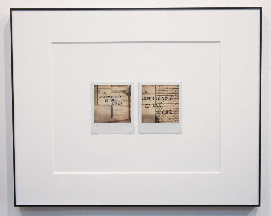"""Vista de la exposición """"Sin Acto"""", de Iván Candeo, en la galería Carmen Araujo Arte, Caracas, 2018. Cortesía de la galería"""