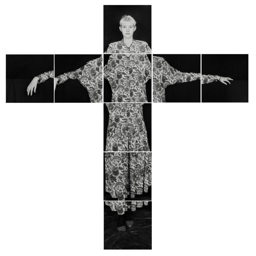 Humberto Rivas, Luci, 1990, fotografías a las sales de plata, 38,3 × 38,3 cm c/u. Cortesía de la Fundación Foto Colectania, Barcelona © Asociación Archivo Humberto Rivas