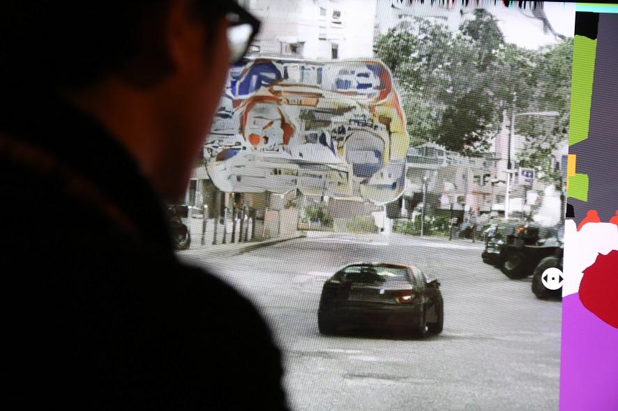 """""""Inaccurate Collaborations"""", proyecto de Cristóbal Valenzuela para el festival Ars Electronica 2018, en Linz, Austria. Foto: cortesía Ars Electronica."""