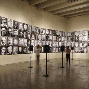 Ingrid Wildi Merino, Arquitectura de las transferencias. La hybris del punto cero I, 2013. Vista de instalación en el MUSAC, como parte de la muestra