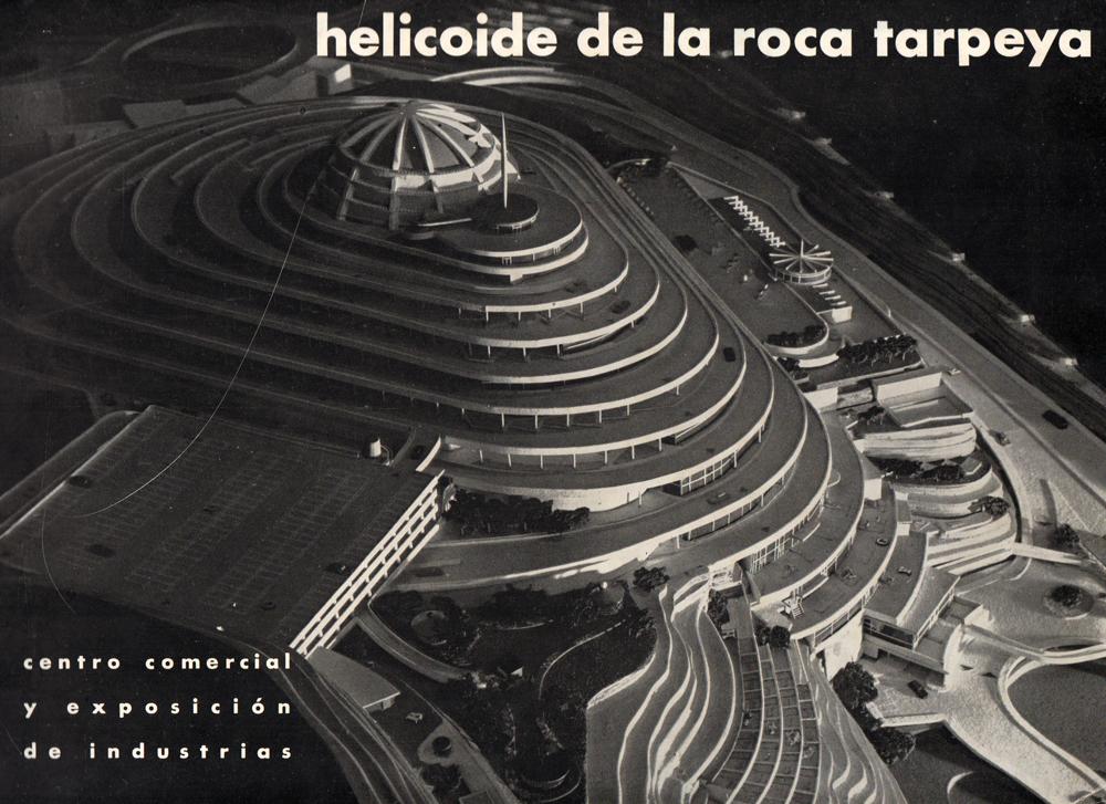 El Helicoide, folleto promocional, c. 1956. Cortesía: Proyecto Helicoide