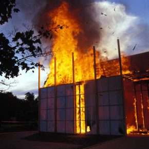 The Skoghall Konsthall, 2000. Gentileza Alfredo Jaar Estudio