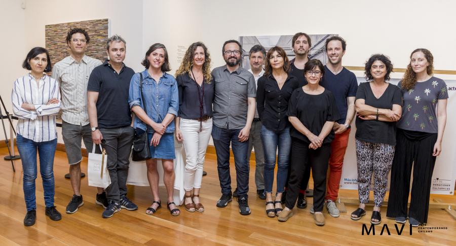 Los 14 finalistas de la Beca Fundación Actual MAVI 2018. Foto: Freddy Ibarra