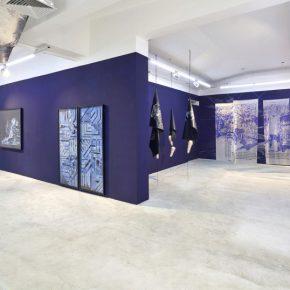 """Vista de la exposición """"Vacío Tropical"""", de Nicole Franchy, en la galería IK Projects, Lima. Cortesía de la artista"""