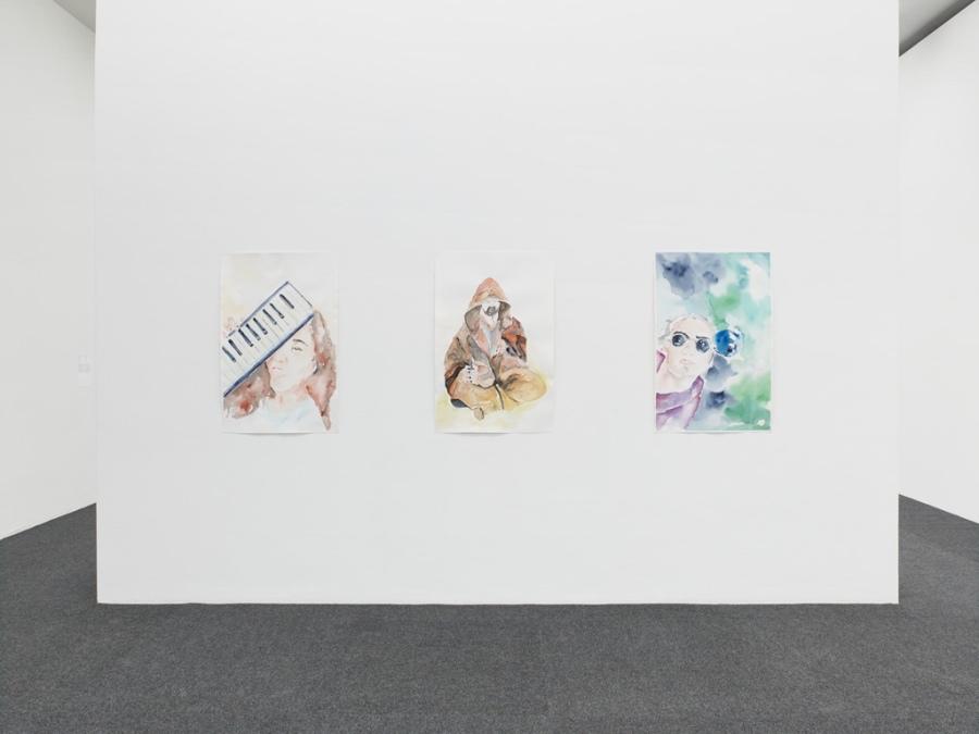 Ana María Millán en Witte de With, Rotterdam, Países Bajos, 2018. Cortesía: WdW