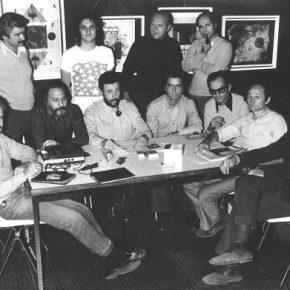 Grupo de los Trece (parte de su primera conformación), hacia 1972