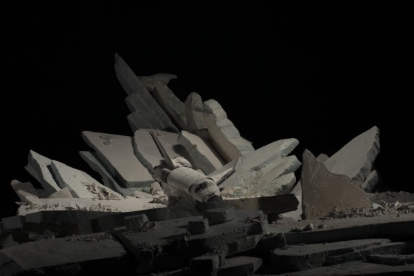 Gabriel Del Favero, Monument Blues, video-instalación, 2012