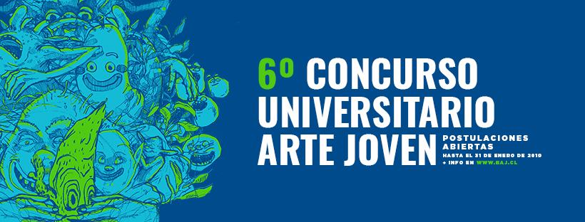 CONCURSO UNIVERSITARIO ARTE JOVEN ABRE CONVOCATORIA