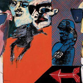Régulo Pérez, Coto de caza, 1967, óleo sobre tela. Colección Mercantil Arte y Cultura, Caracas.