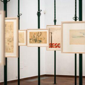 "Vista de la exposición ""Lina Bo Bardi dibuja"". © Fundació Joan Miró, Barcelona, 2019. Foto: Pep Herrero"