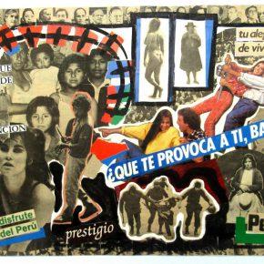 Herbert Rodríguez (Lima, 1959), Perú, ¿qué te provoca a ti, baby?, 1987-1988, collage, 29,4 x 41,5 cm. Cortesía: Henrique Faria Buenos Aires