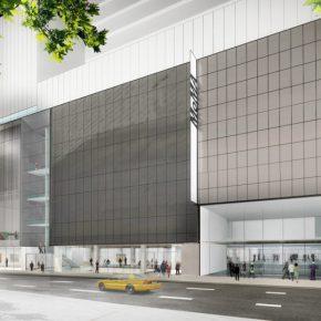 La fachada proyectada del nuevo Museum of Modern Art, calle 53, Manhattan, NY © 2017 Diller Scofidio + Renfro