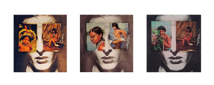 Anna Bella Geiger, Historia do Brasil. Little Boys & Girls, 1975. Cortesía: Colección Catherine Petitgas. Art Paris 2019